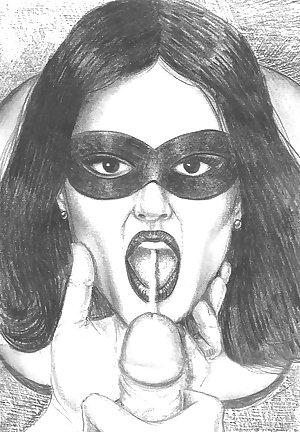 Them. Drawn Porn Art 24 - Fellatio 3 of 3
