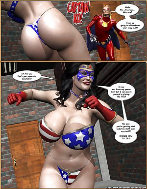 Cartoon - SuperHeroine 10