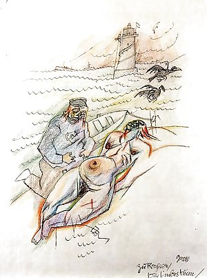 Drawn Ero and Porn Art 24 - George Grosz