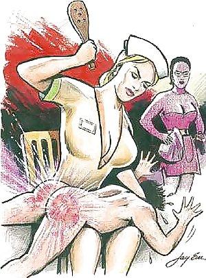 spanking drawings