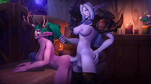 Warcraft night elf 2