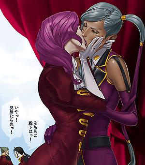 Pure Lesbian Anime-Manga-Hentai Volume 1.
