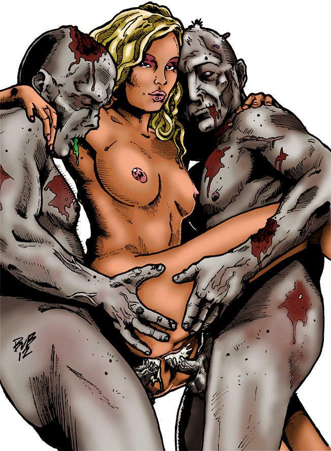 Порно Картинки Про Зомби